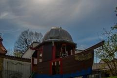 22° Ring über der Spielbootsternwarte am 16.4.2020