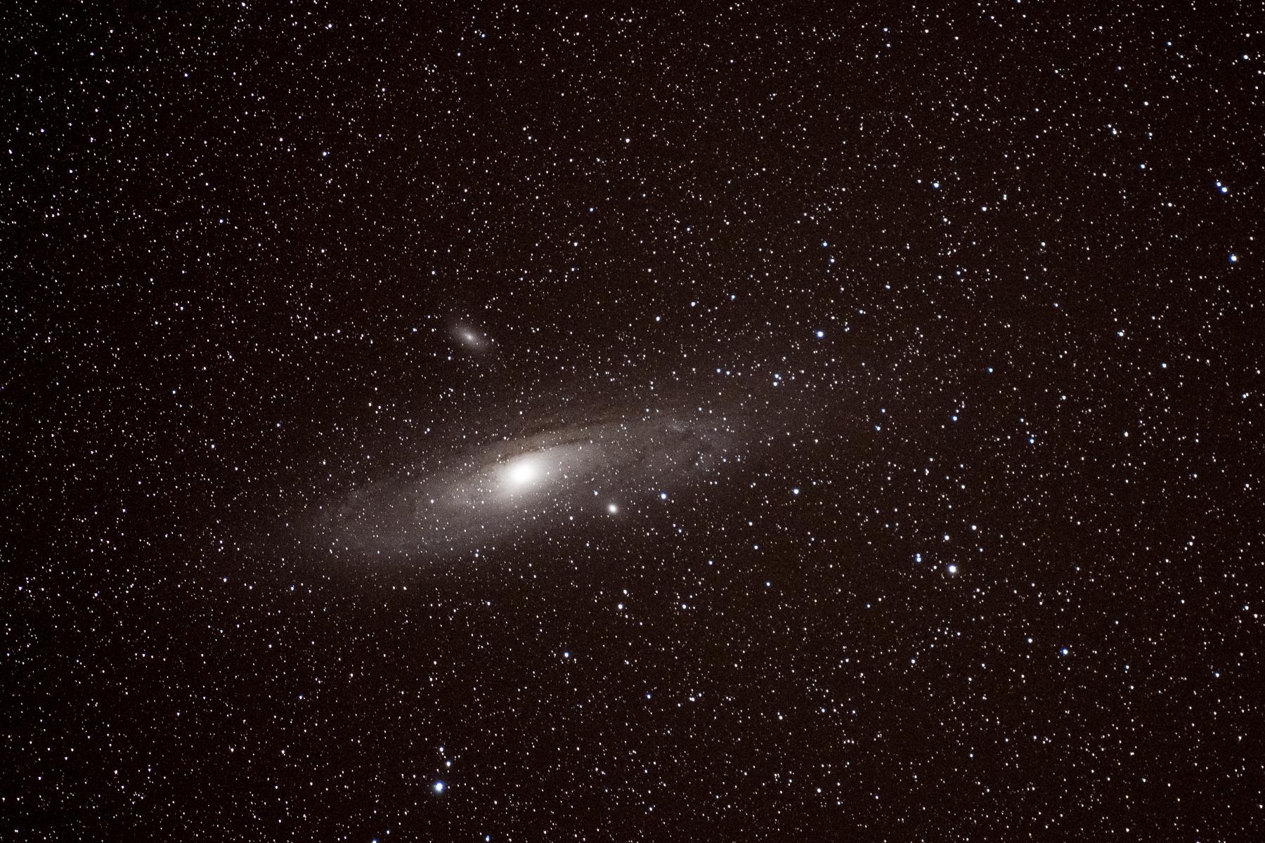 Andromedanebel M32 (Nikon D7500, 70-200mm Nikkor, 18.09.2020)