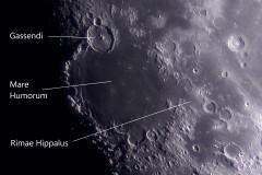Detailaufnahme Mond mit ASI183Pro am 100/1500mm Refraktor