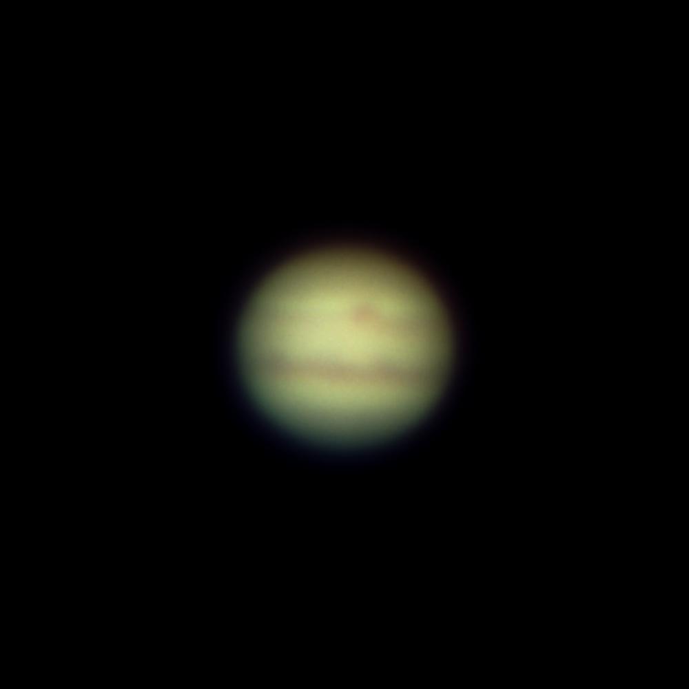 Jupiter am 15.7.2020 mit ASI183Pro am 100/1500mm Refraktor