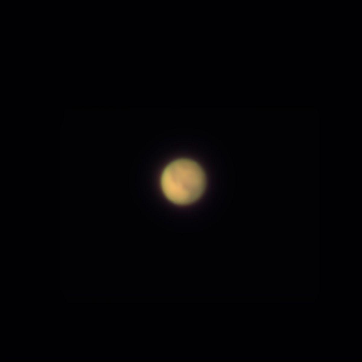 Mars Jupiter am 7.11.2020 mit ASI183Pro am 100/1500mm Refraktor